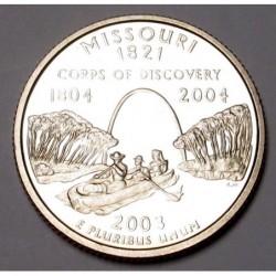 quarter dollar 2003 S PP - Missouri