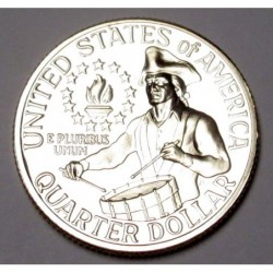 quarter dollar 1976 S PP - Declaration of Independence