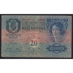 20 kronen/korona 1919