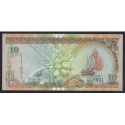 10 rufiyaa 1998