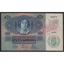 50 kronen/korona 1919 - Murska Sobota