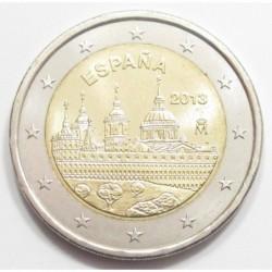 2 euro 2013 - UNESCO World Heritage Site: El Escorial