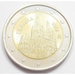 2 euro 2012 - UNESCO World Heritage Site: Burgos Cathedral
