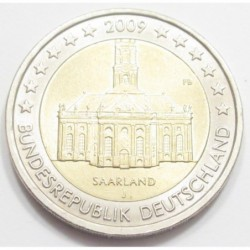 2 euro 2009 J - Saarland