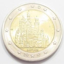 2 euro 2012 A - Bavaria