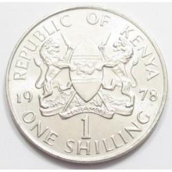 1 shilling 1978