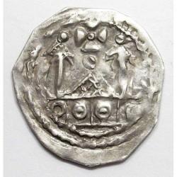 Adalbert III. von Böhmen 1168-1177/1183-1200 pfennig Ca9