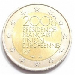 2 euro 2008 - French Presidency of the Council of the European Union