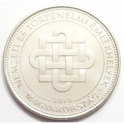 50 forint 2015 - National and historical monuments
