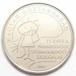 50 forint 2005 - Child rescue service