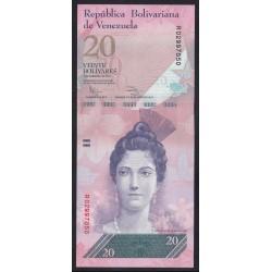 20 bolivares 2011