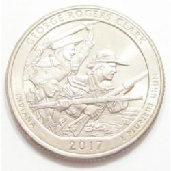 quarter dollar 2017 P - George Rogers Clark