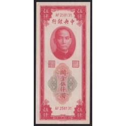 5000 gold units 1947