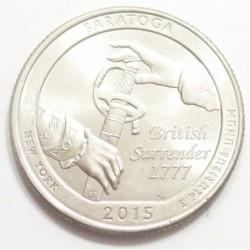 quarter dollar 2015 P - Saratoga