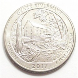 quarter dollar 2017 D - Ozark Riverways