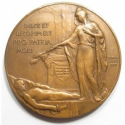Lajos Berán: In memory of the dead of World War I (MAC (Hungarian Athletics Club)) 1920