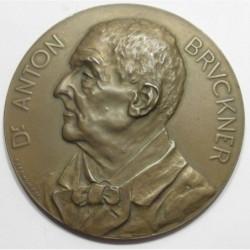 Franz Xaver Pawlik: Memorial plaque to composer Dr. Anton Bruckner 1842-1896