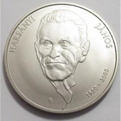 2000 forint 2020 BU - János Harsányi is an economist