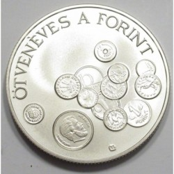 2000 forint 1996 BU - The forint is 50 years old