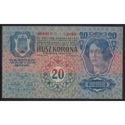 20 kronen/korona 1913