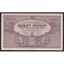 10 korun 1927 P