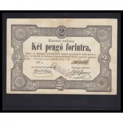 2 pengõ forintra 1849 - Dr. Michaelis Béla