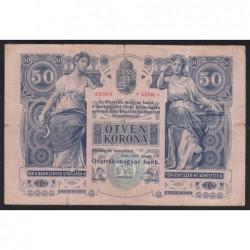 50 kronen/korona 1902