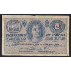 2 kronen/korona 1914