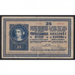 25 korona 1918