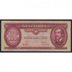 100 forint 1960