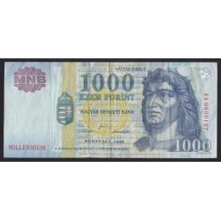 1000 forint 2000 DB