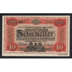 10 fillér/heller 1916 - Hajmáskér