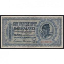 100 karbowanez 1942