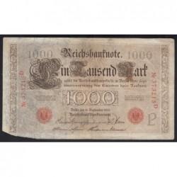 1000 mark 1909