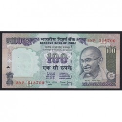 100 rupees 2001