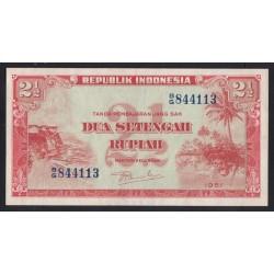 2 1/2 rupiah 1951