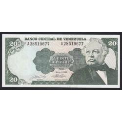 20 bolivares 1990