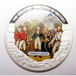 1 dollar 2013 PP - The greatest warlords of history - Horatio Gates