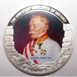 1 dollar 2013 PP - The greatest warlords of history - Joseph Radetzky