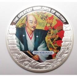 1 dollar 2013 PP - The greatest warlords of history - Oda Nobunaga