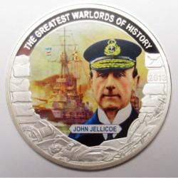 1 dollar 2013 PP - The greatest warlords of history - John Jellicoe