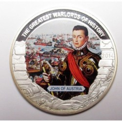 1 dollar 2014 PP - The greatest warlords of history - John of Austria