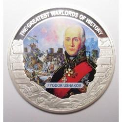 1 dollar 2014 PP - The greatest warlords of history - Fyodor Ushakov