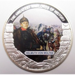 5 dollars 2011 PP - The greatest warlords of history - Helmuth Von Molke