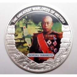 5 dollars 2011 PP - The greatest warlords of history - Isoroku Yamamoto