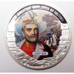 5 dollars 2011 PP - The greatest warlords of history - Józef Bem