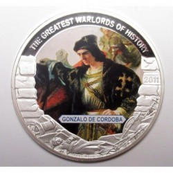 5 dollars 2011 PP - The greatest warlords of history - Gonzalo de Cordoba