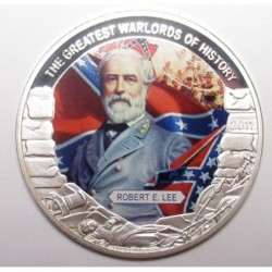 5 dollars 2011 PP - The greatest warlords of history - Robert E. Lee