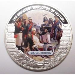 5 dollars 2011 PP - The greatest warlords of history - Mikhail Kutuzov