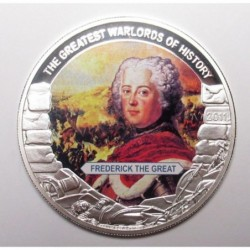 5 dollars 2011 PP - The greatest warlords of history - Frederick the Great